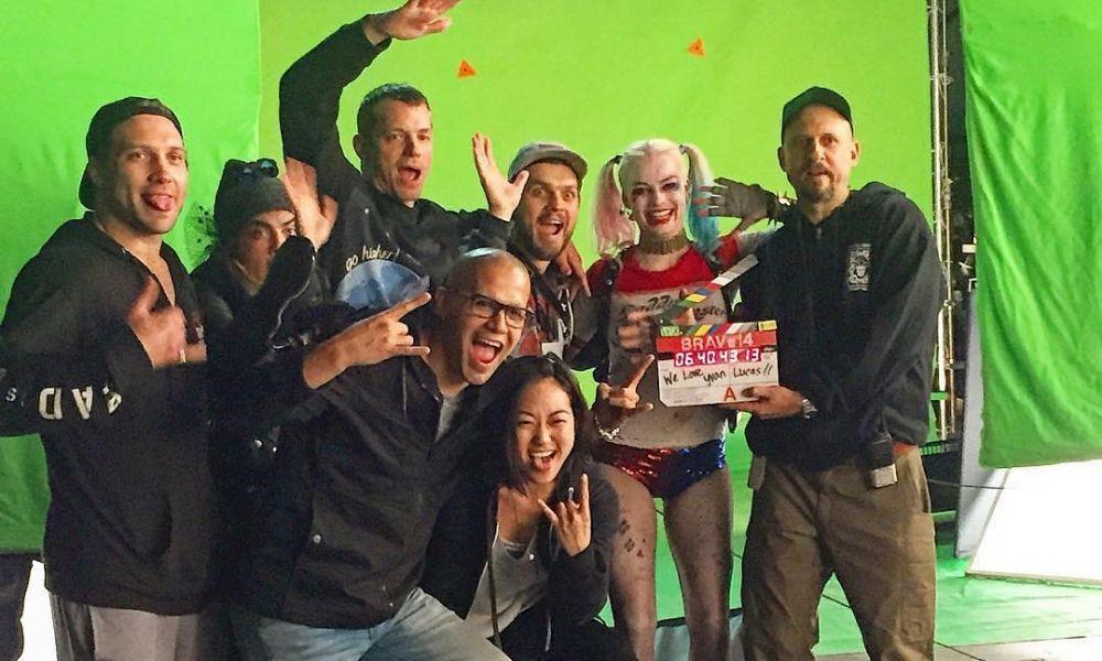 primeras pruebas de 'Harley Quinn' 'Joker'
