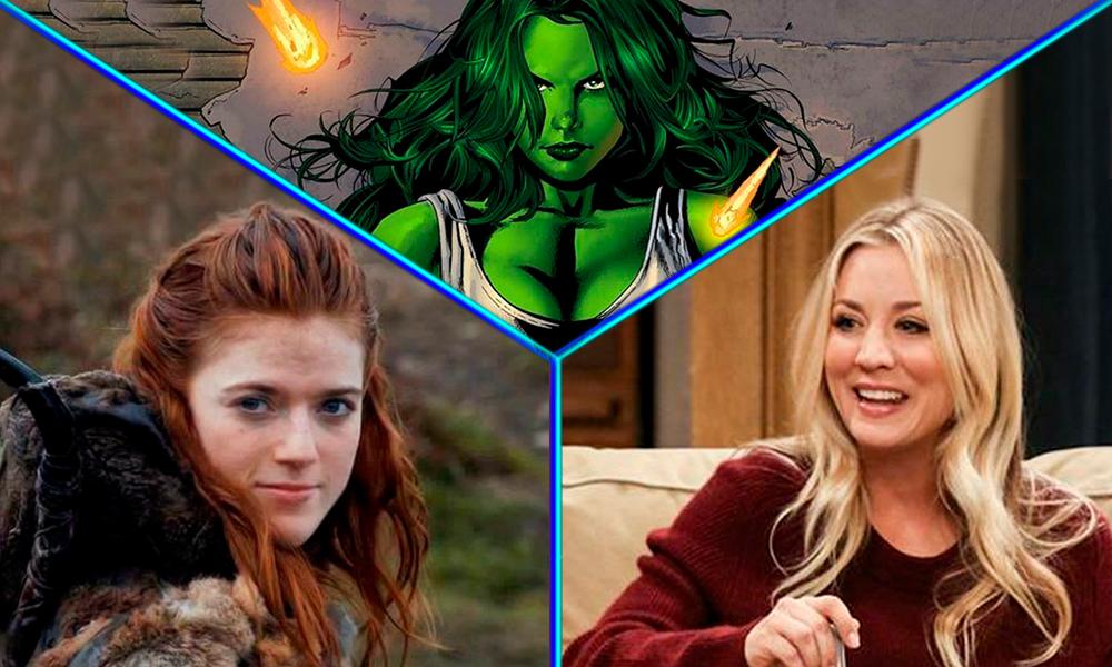 candidatas para ser She-Hulk