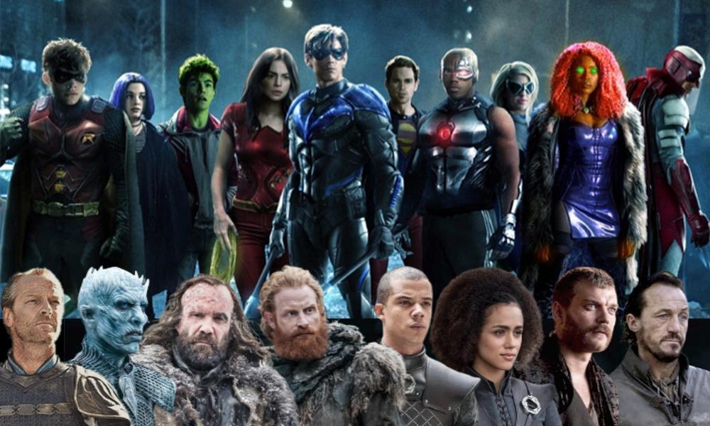 'Titans' y 'Game of Thrones' en el mismo universo