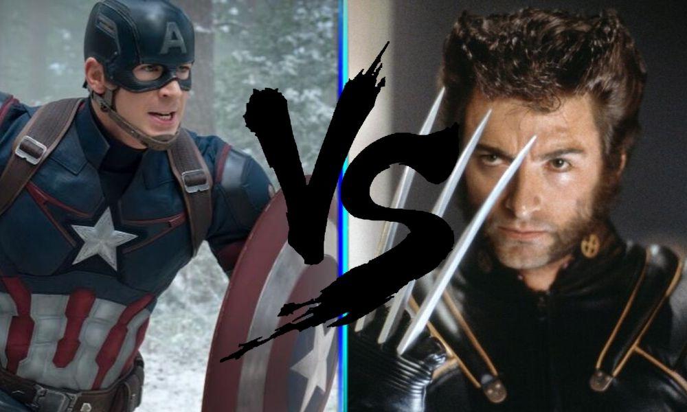Las garras de Wolverine pueden destrozar el escudo de Captain America