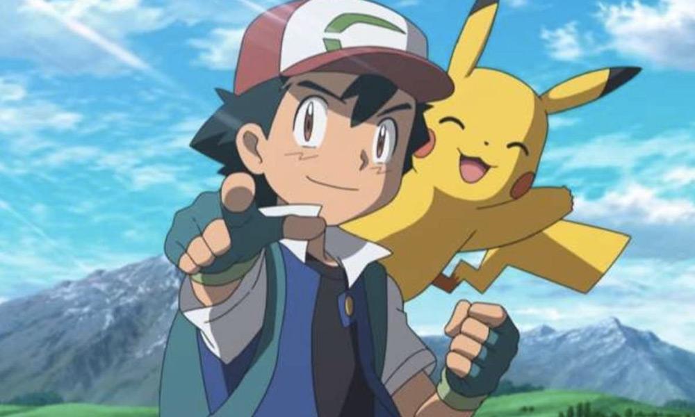 Profesor Oak le dio a Ash un Pikachu