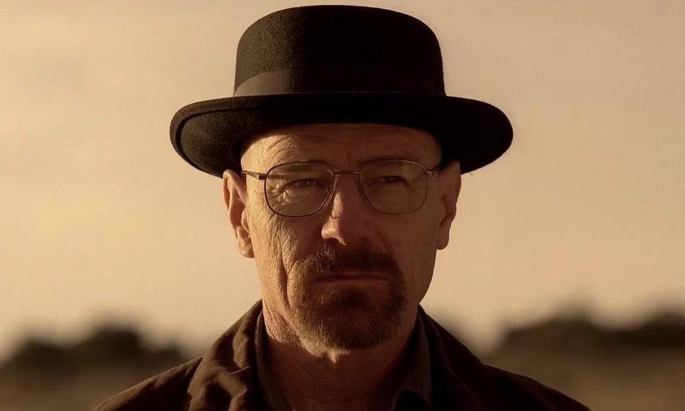 Walter White en la película de 'Breaking Bad'