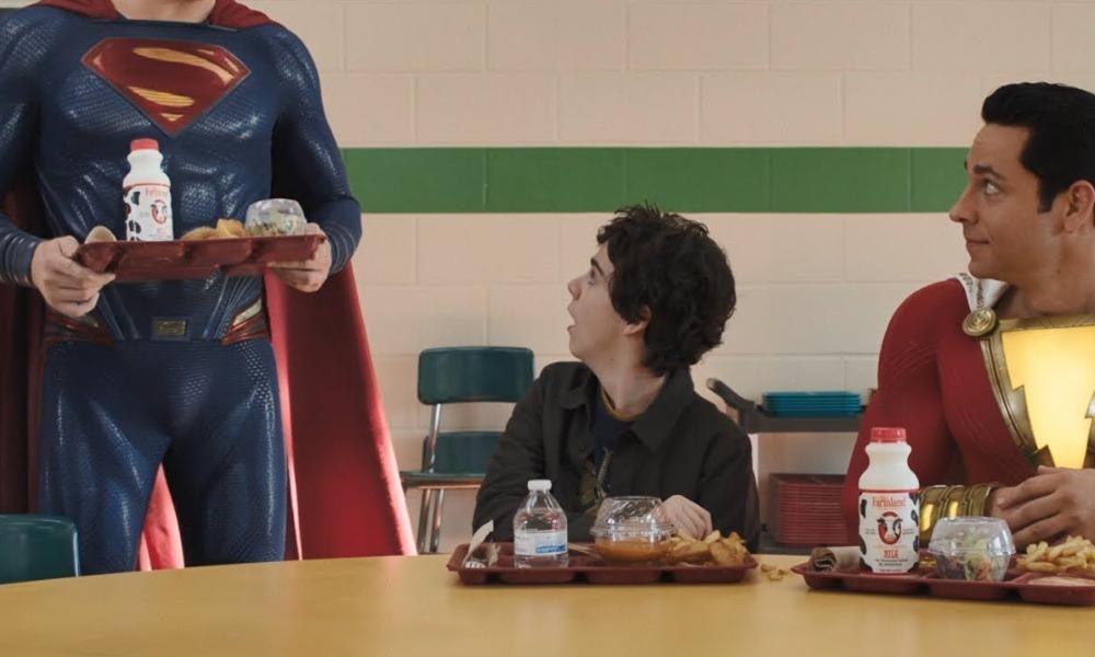 Superman de 'Shazam!' no era Henry Cavill