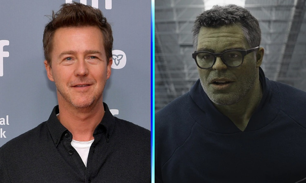 Edward Norton como Professor Hulk