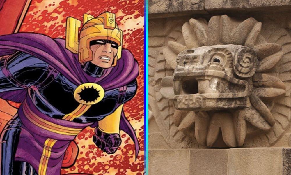 'Eternals' se graba en Teotihuacan