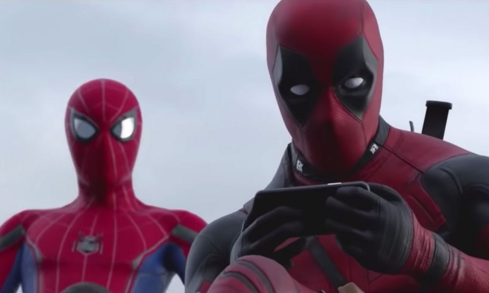 trailer de Deadpool y Spider-Man