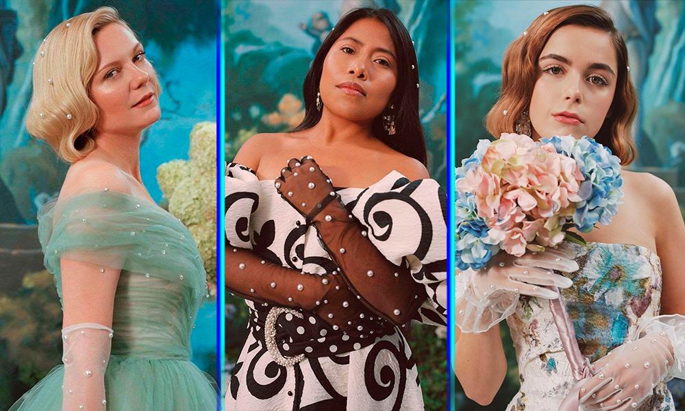 Yalitza Aparicio modela para Rodarte junto a actrices de Hollywood