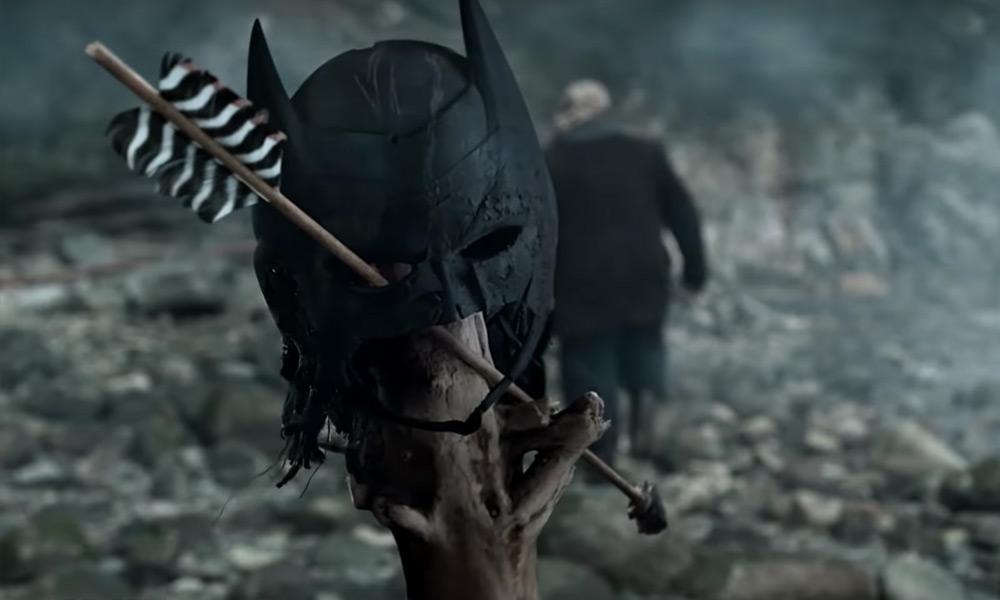 Máscara de Batman en 'Arrow'