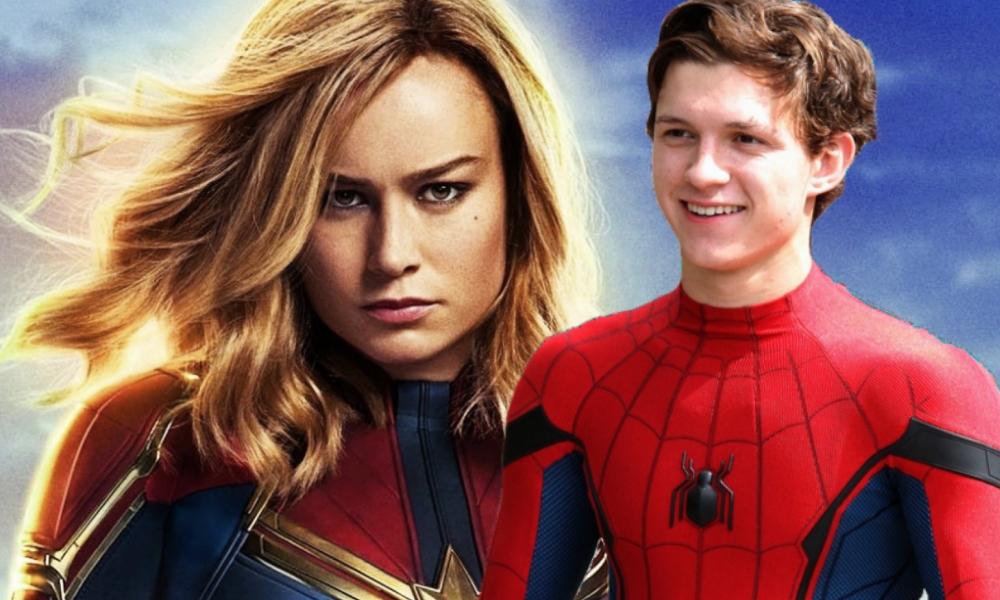 Captain Marvel y SpiderMan tendrían un romance
