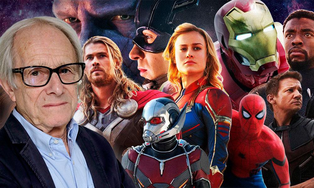 Ken Loach critica películas de Marvel