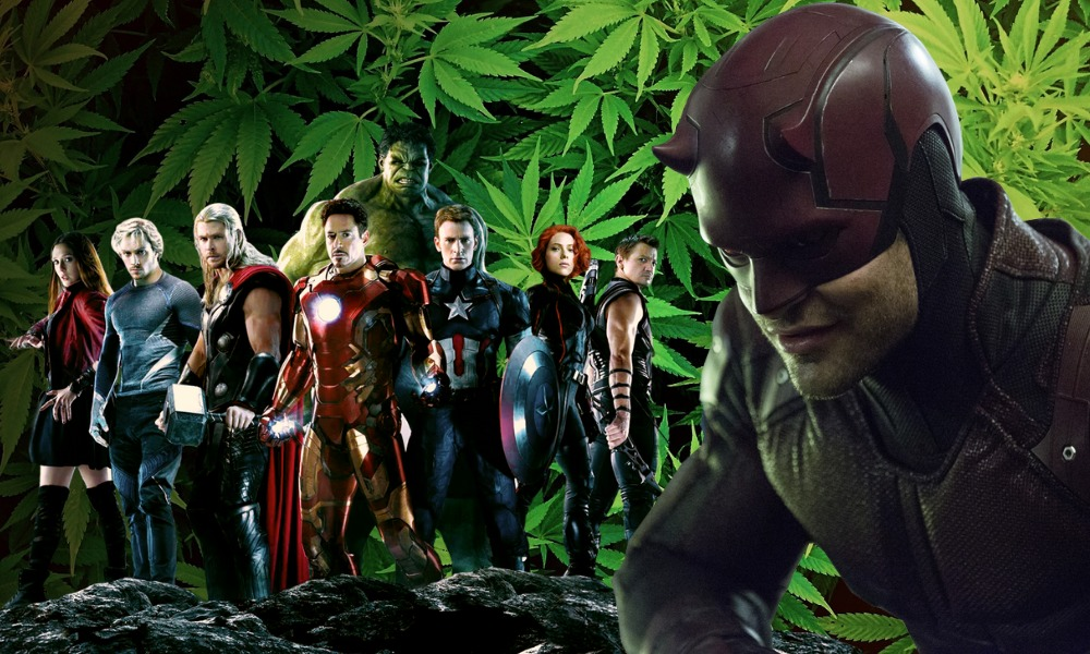 Marvel legalizó la marihuana