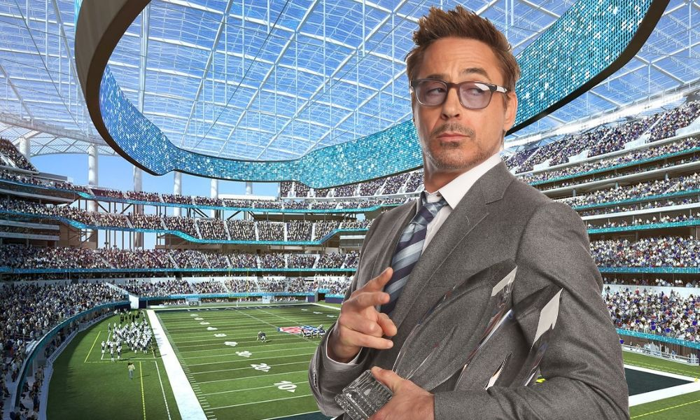 Robert Downey Jr ingresa a la NFL