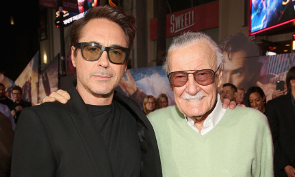 Robert Downey Jr. recordó a Stan Lee