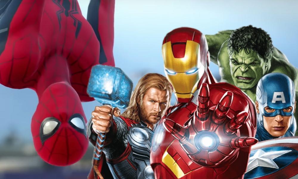 Todos los avengers en damage control