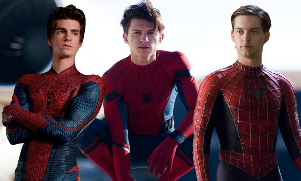Tom Holland y Tobey Maguire en 'Spider-Man'