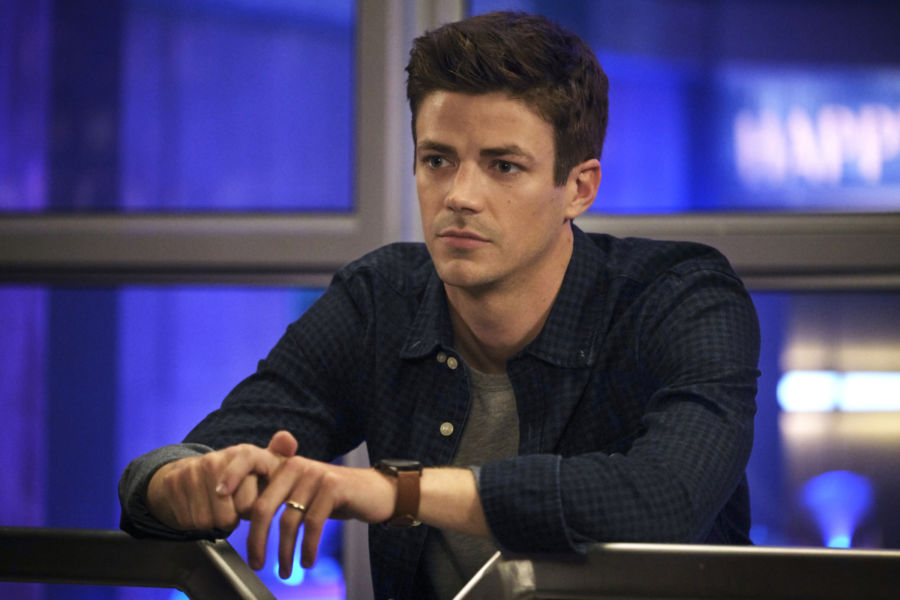 fotos antes de la muerte de barry en the flash