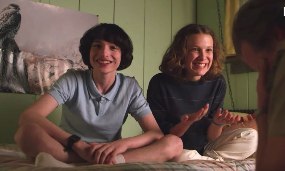 Bloopers de Stranger Things 3