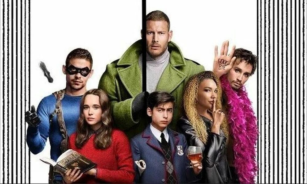 Por qué hay celulares en 'The Umbrella Academy'