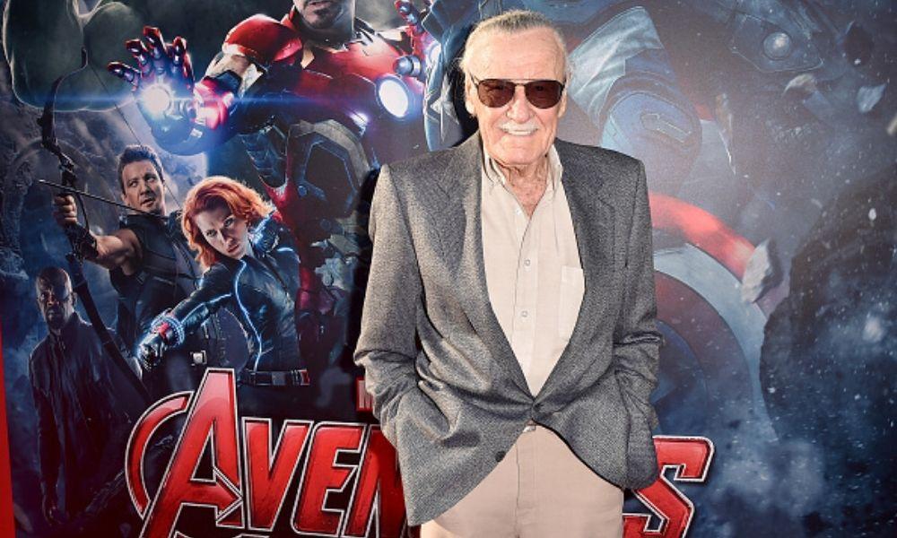 Stan Lee en marvels avengers