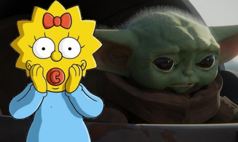 Los Simpson predijeron la aparición de Baby Yoda — Una vez más