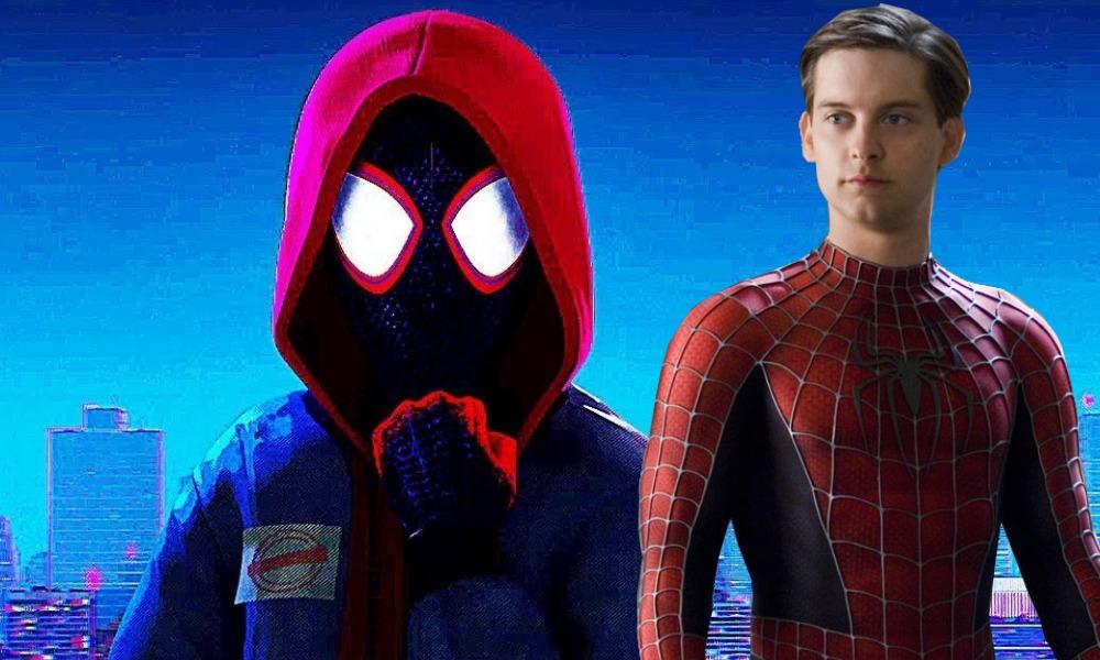 Tobey Maguire en 'Spider-Man Into the Spider-Verse'