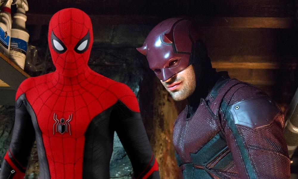 poster de Spider-Man y Daredevil