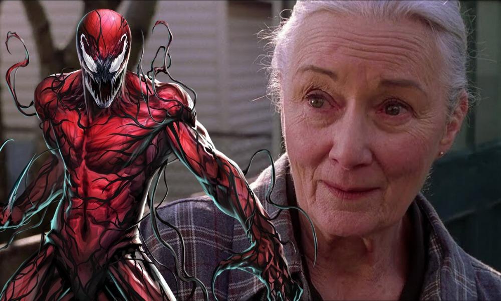 tía May se convierte en Carnage