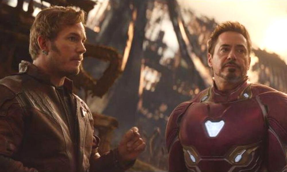 Iron Man y Star-Lord cambiaron de papeles