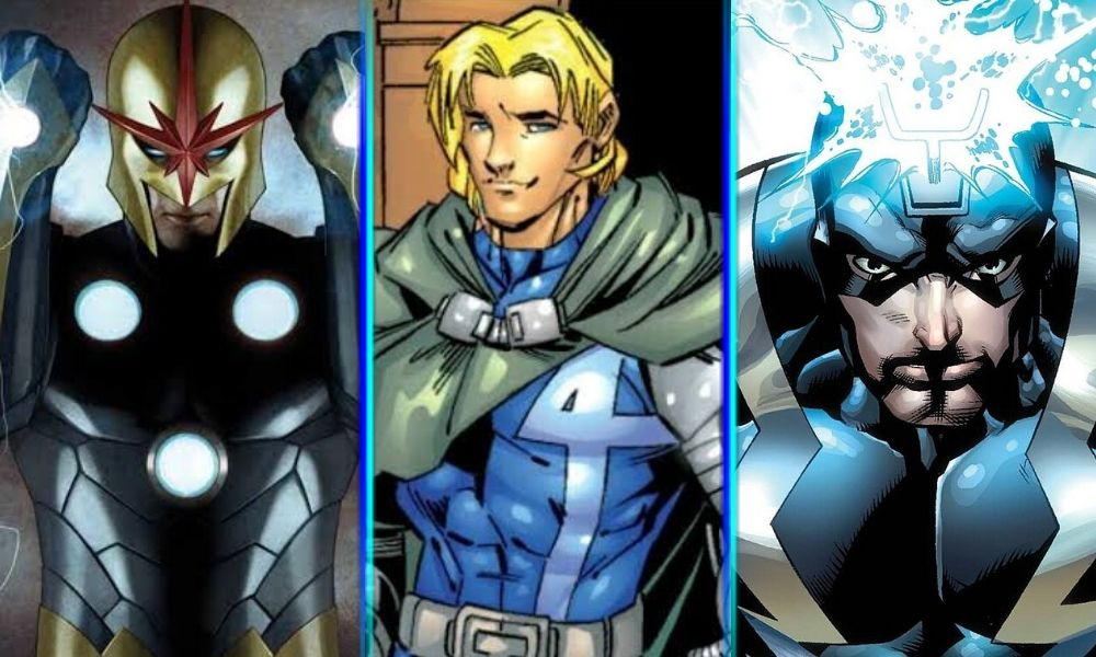 fantastic four presentaría a Franklin Richards