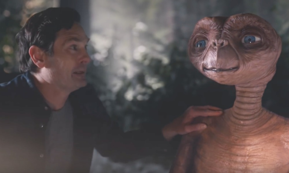 'E.T.' visita a 'Elliot' 37 años después
