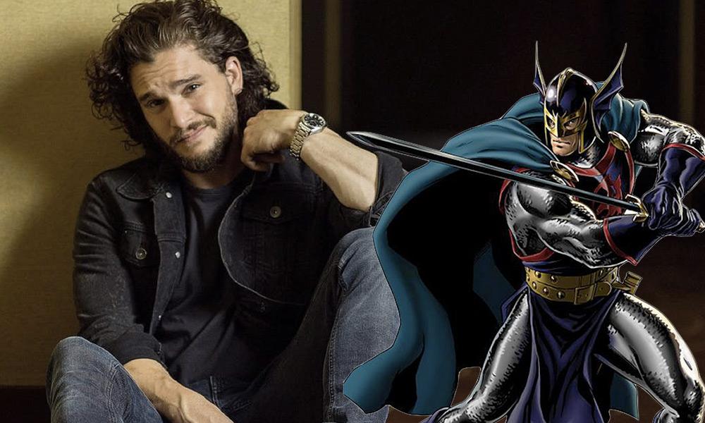 Armadura de Kit Harington como Black Knight