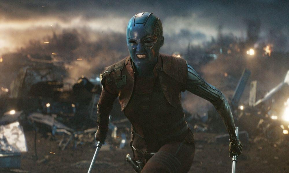 Nebula es inmune al chasquido de Thanos