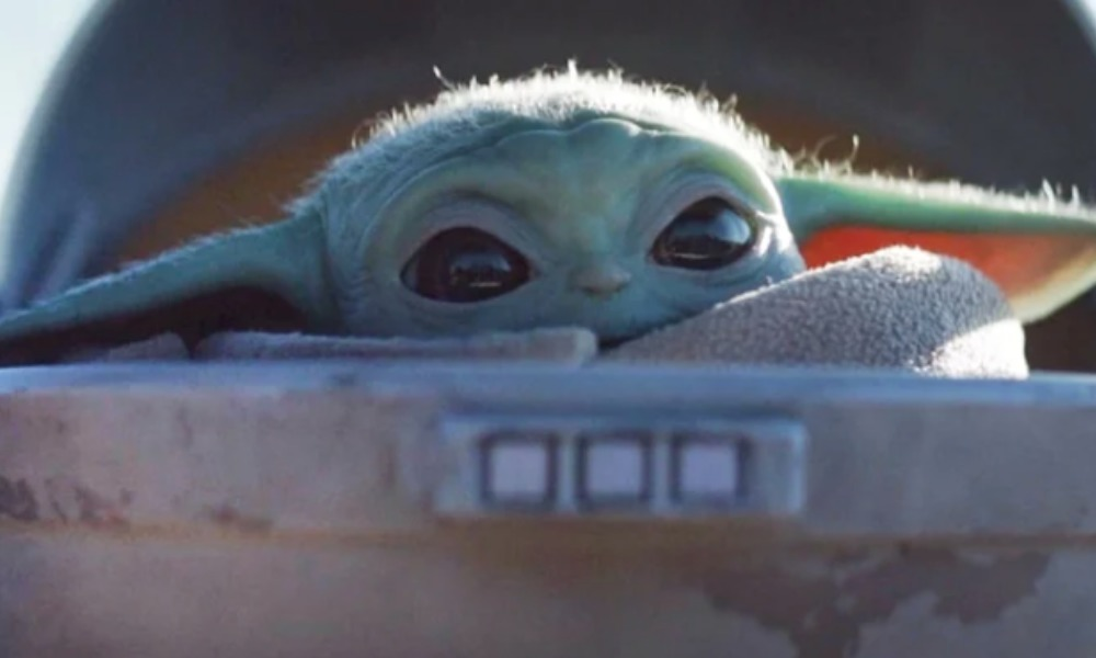 Funko Pop de baby Yoda
