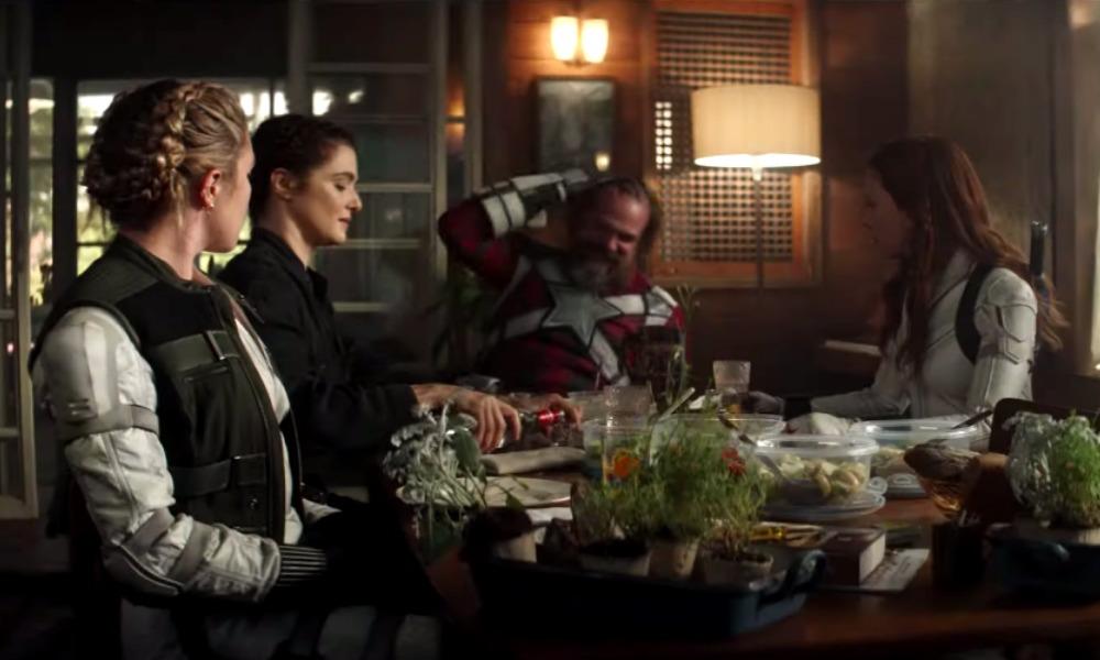 el chaleco de Black Widow es igual en 'Infinity War'