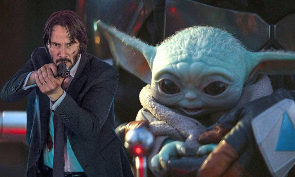 John Wick salvará a Baby Yoda