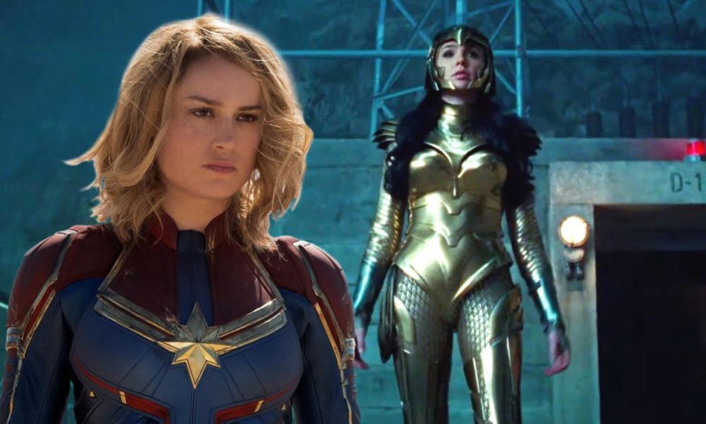 Brie Larson respondió al trailer de 'Wonder Woman 1984'