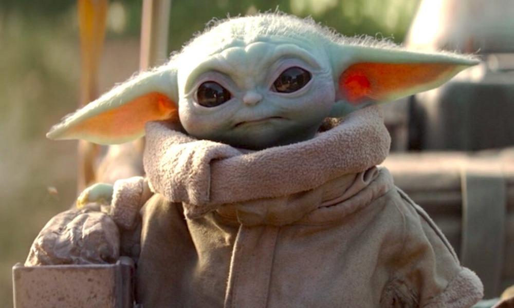 más baby Yoda en 'The Mandalorian'