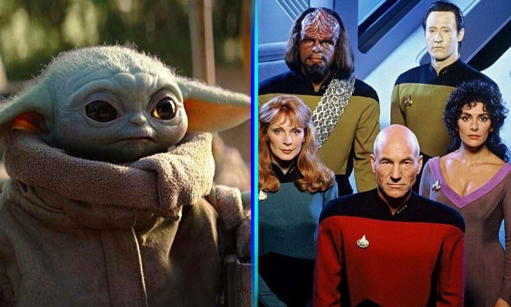 Baby yoda en 'Star Trek'