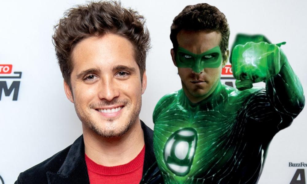 Diego Boneta como Green Lantern