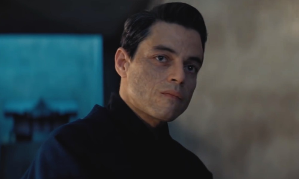 Rami Malek villano en agente 007 No Time to Die