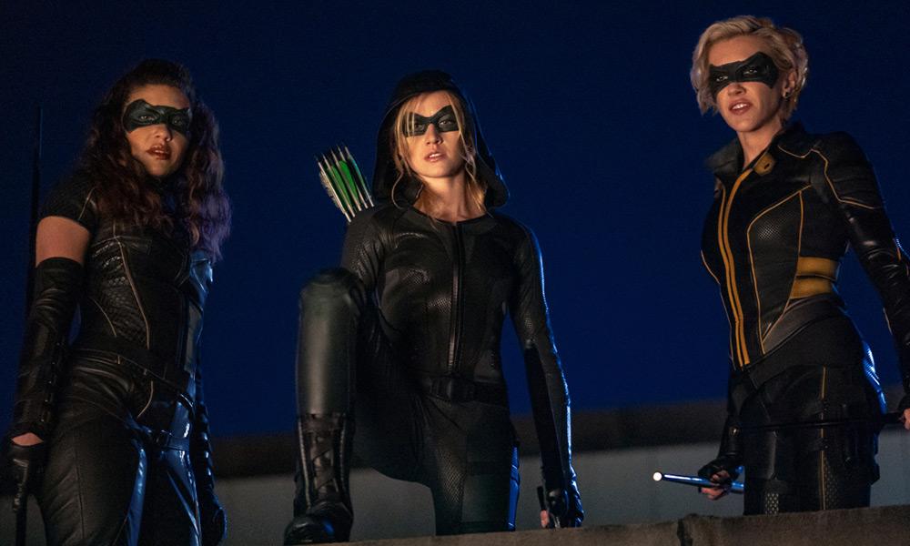 Primeras imágenes de Green Arrow and the Canaries