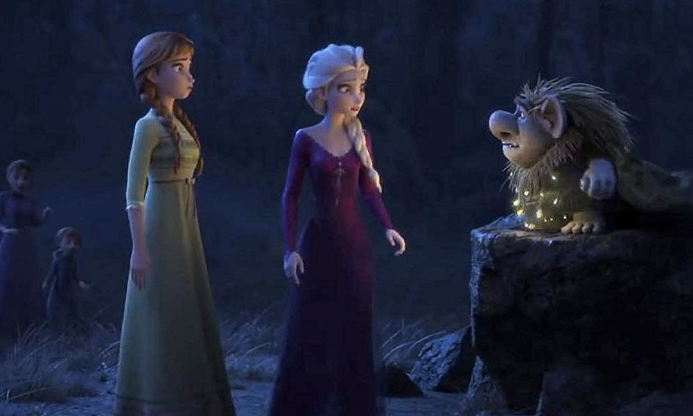 Escena eliminada de Frozen 2 con Anna y Elsa