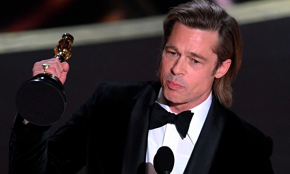 Brad Pitt ganó el Oscar a Mejor Actor de Reparto