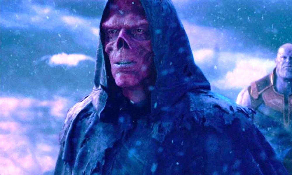Diseño original de Red Skull
