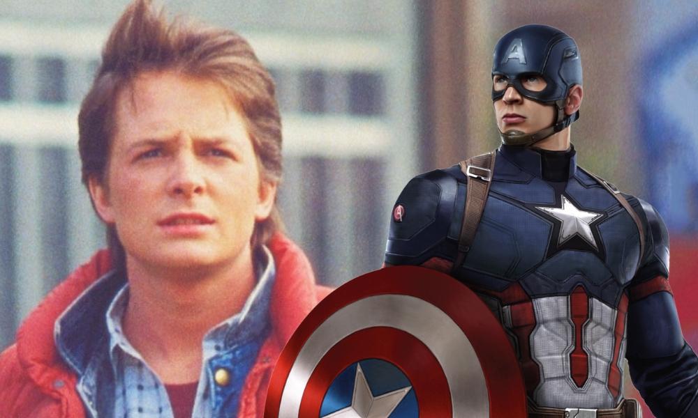 Michael J. Fox respondió a Chris Evans por un video