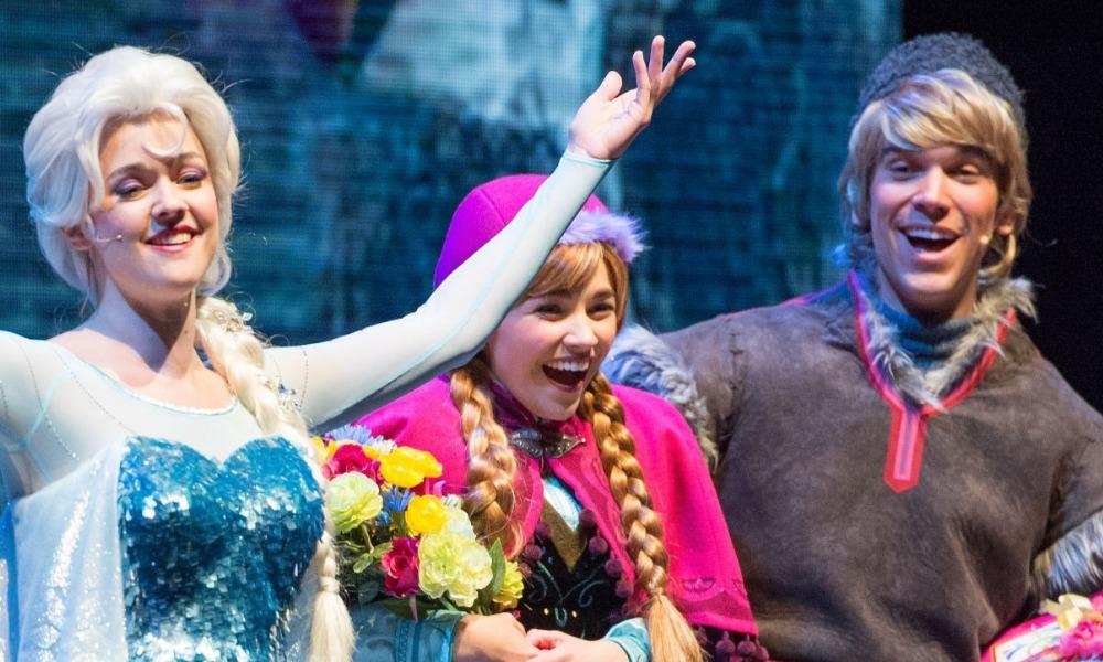Primera imagen del parque temático de 'Frozen'