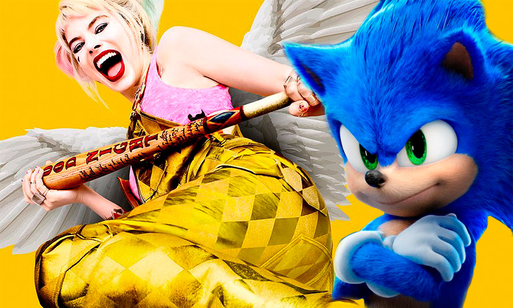 estrategia de Birds of Prey contra Sonic the Hedgehog