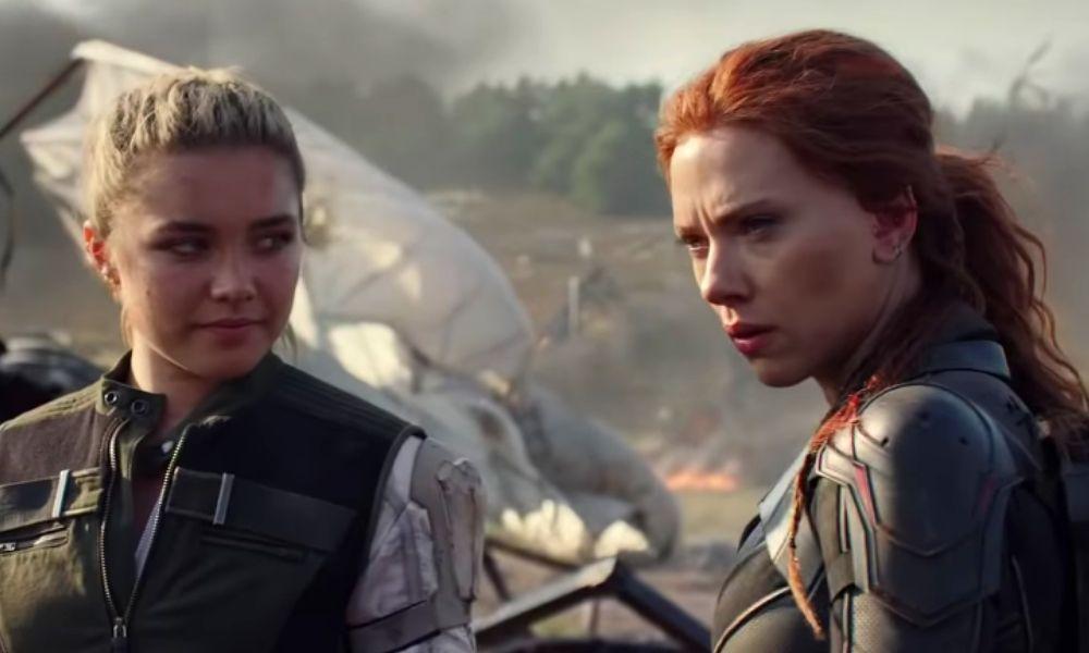 referencia de la familia de Black Widow en Endgame