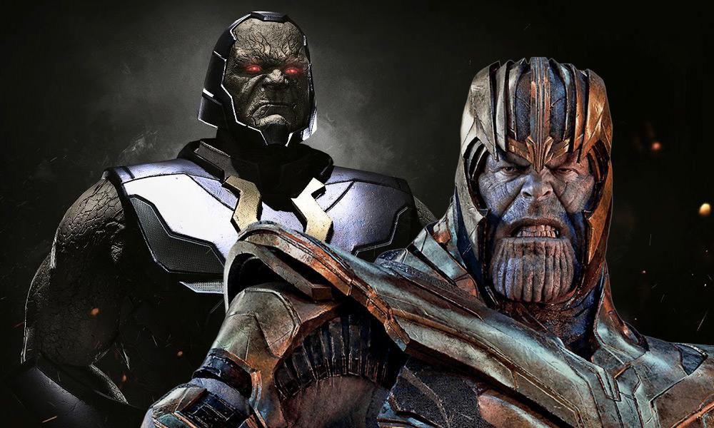 Darkseid es más poderoso que Thanos