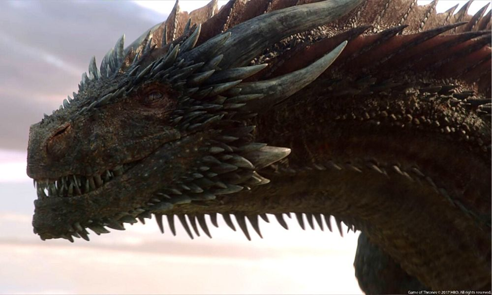 Drogon de Game of Thrones apareció en 'Westworld'